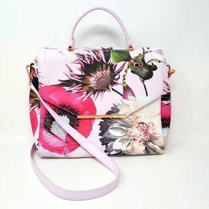 NEW! Ted Baker Neon Poppy Satchel / Bag